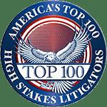 Americas top 100 high stakes litigators logo